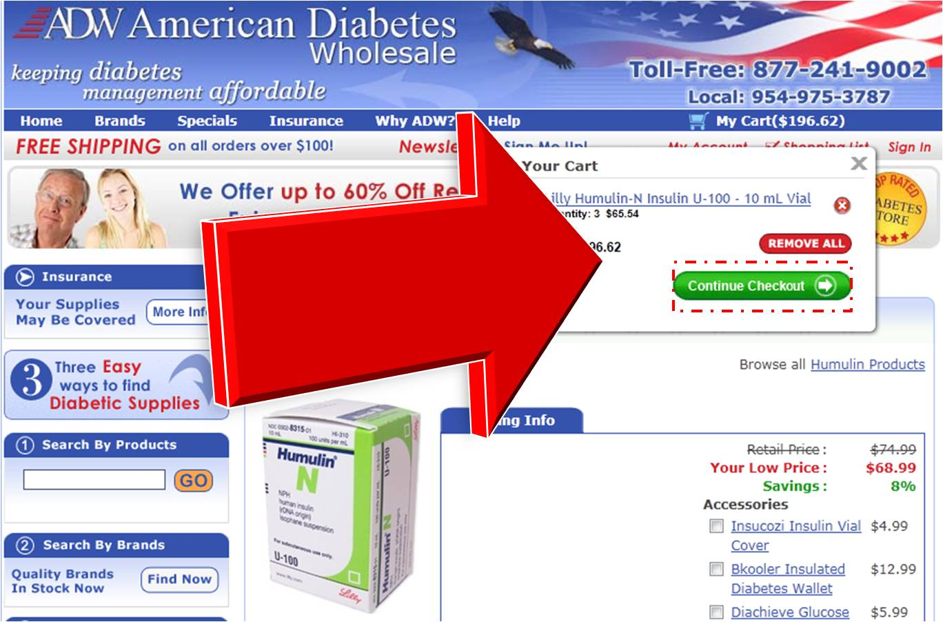 American diabetes wholesale coupons promotional codes