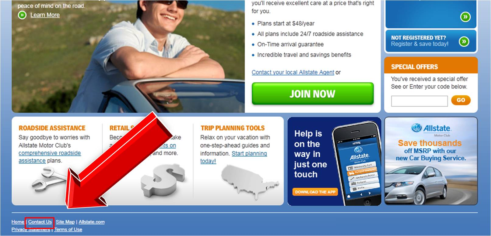 Allstate motor club discount coupons