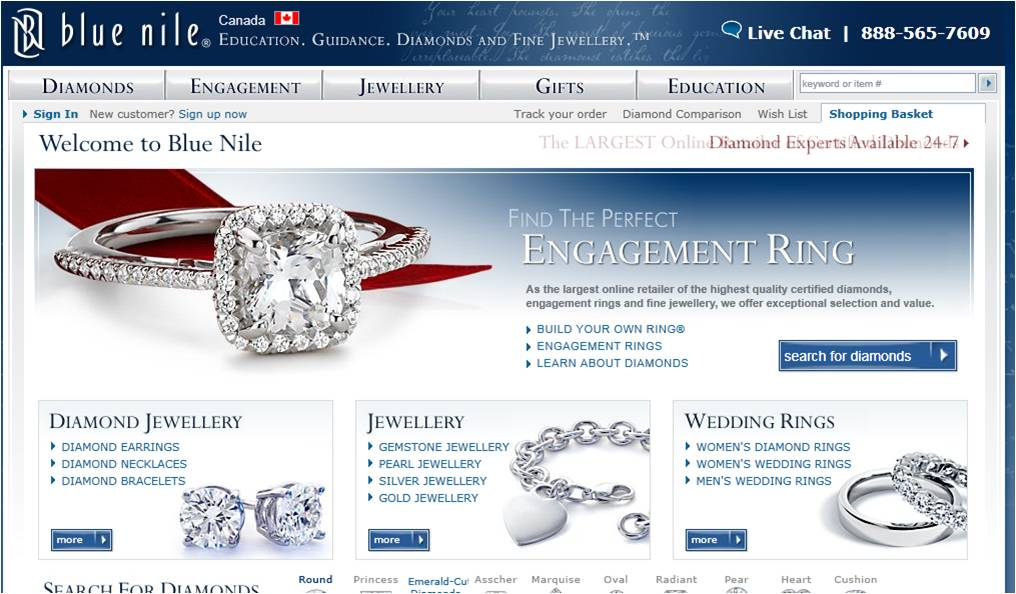 View Blue Nile Deals How to Use Coupons and Codes. Blue Nile coupons put the world's best gemstone jewelry within reach. Simply click on the coupon deal to activate, then enter the Blue Nile reference code at checkout.