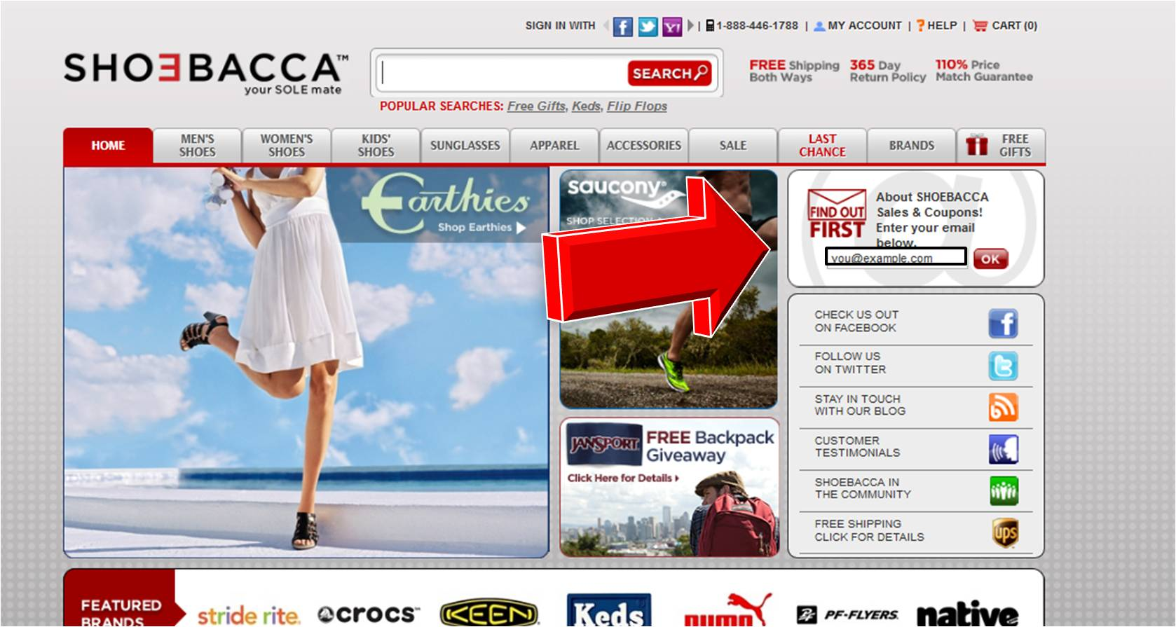 SHOEBACCA Coupon Codes, Promos & Sales