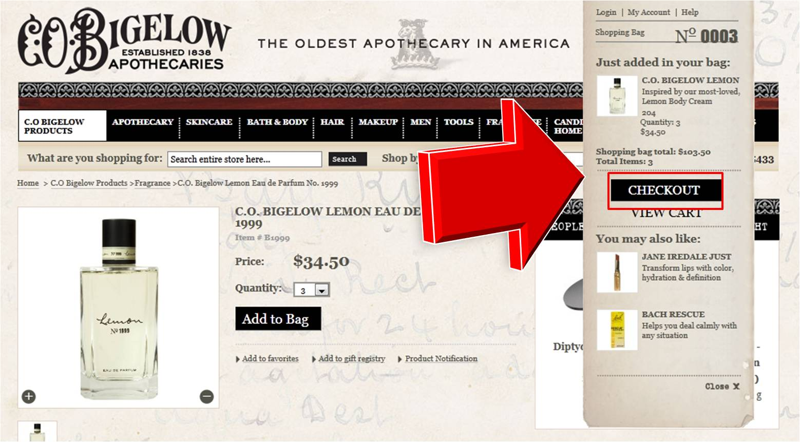 Take 20% Off W/ C O Bigelow Coupon Code. Shop C.O. Bigelow and take advantage of outstanding apothecary savings! Act now and save 20% on C.O. Bigelow Premium Shave Cream. Click .