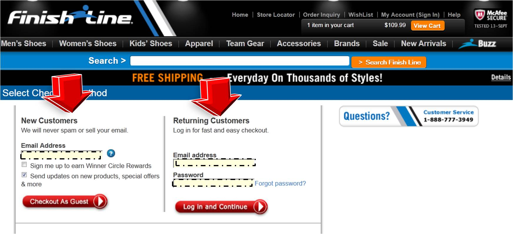 Finishline coupon code