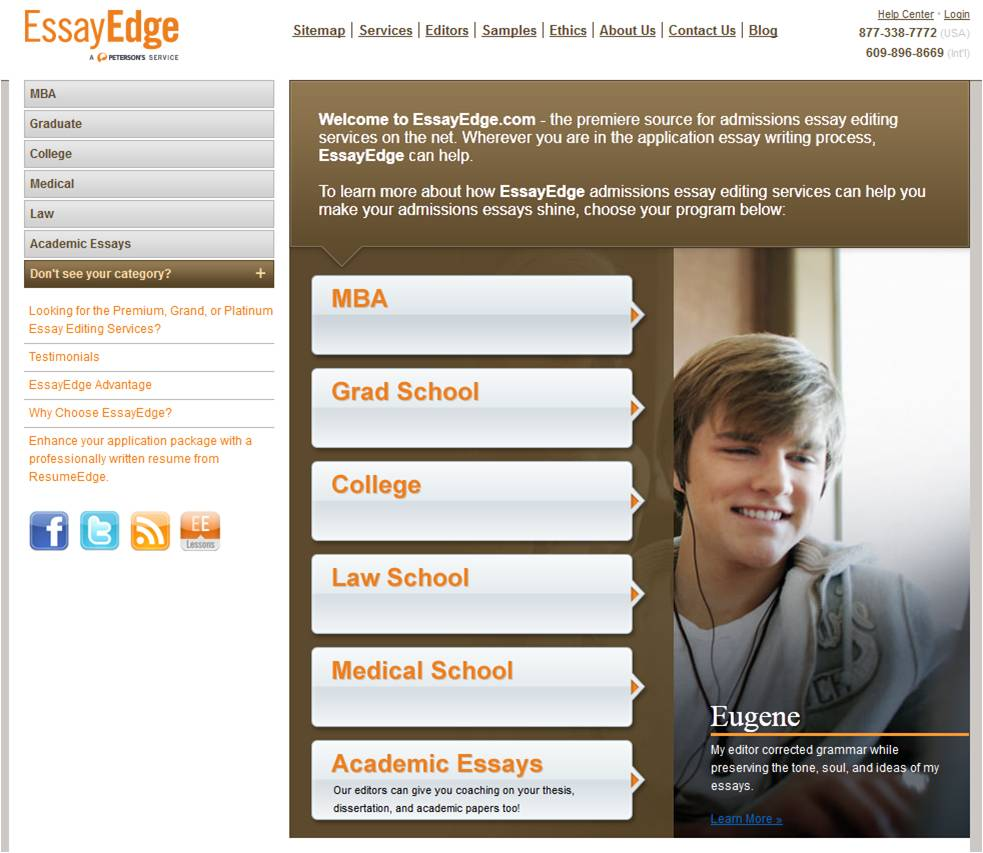 apply essayedge Essay writing information on gradschoolscom the leading site for accredited colleges and universities offering graduate programs and degrees read more on essay writing here.