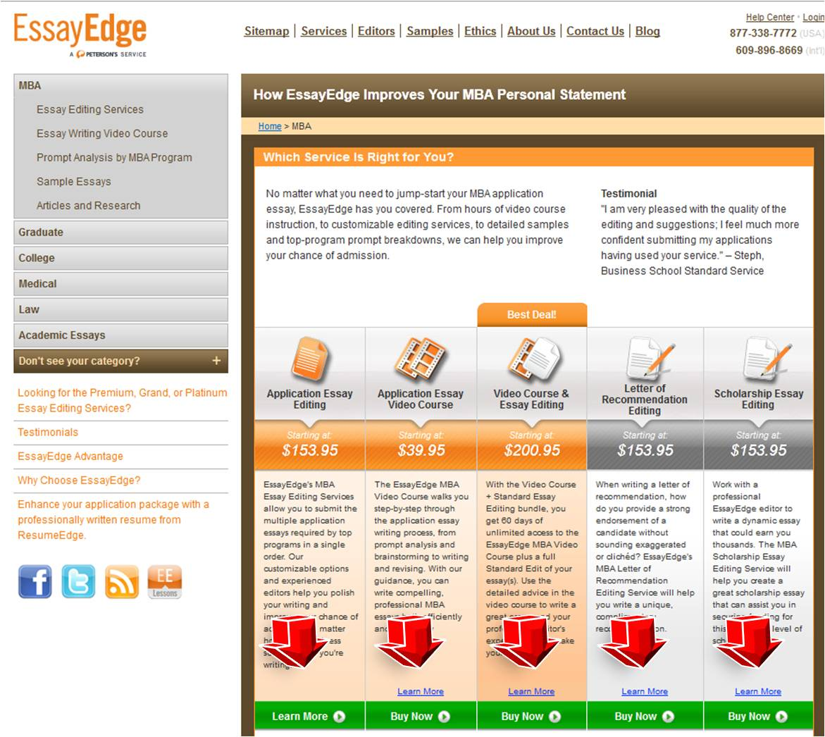 Essayedge editing website