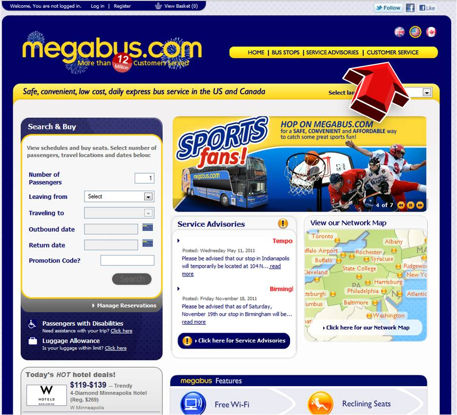 Megabus Promo Code & Coupon website view Megabus offers city center-to-city center travel services at low costs. They have served a large number of people .