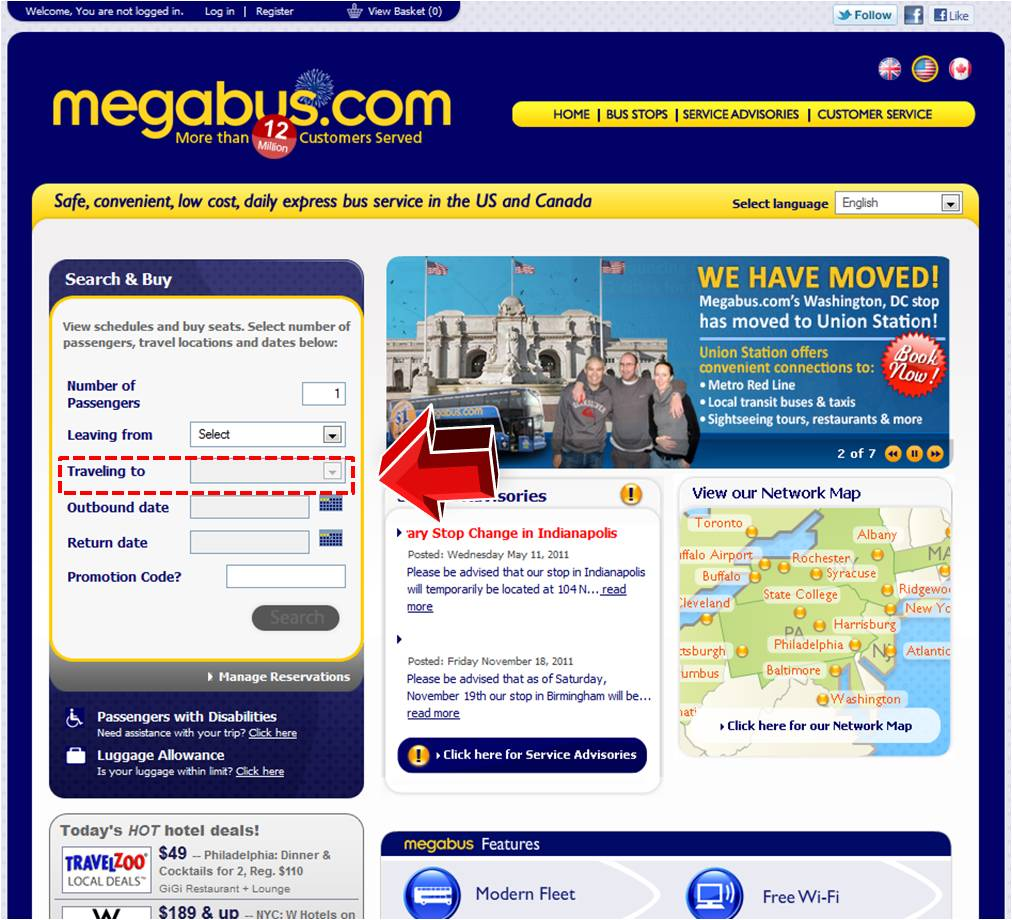 Save money on things you want with a Megabus Canada promo code or coupon. 5 Megabus Canada coupons now on RetailMeNot.