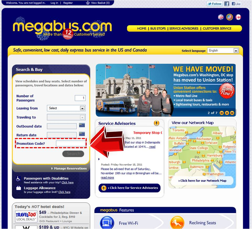 Can't find a code? Request one.. Connect with Megabus. You are viewing current mobzik.tk coupons and discount promotions for December For more about this website, and its current promotions connect with them on Twitter @megabusuk, or Facebook. Visit mobzik.tk