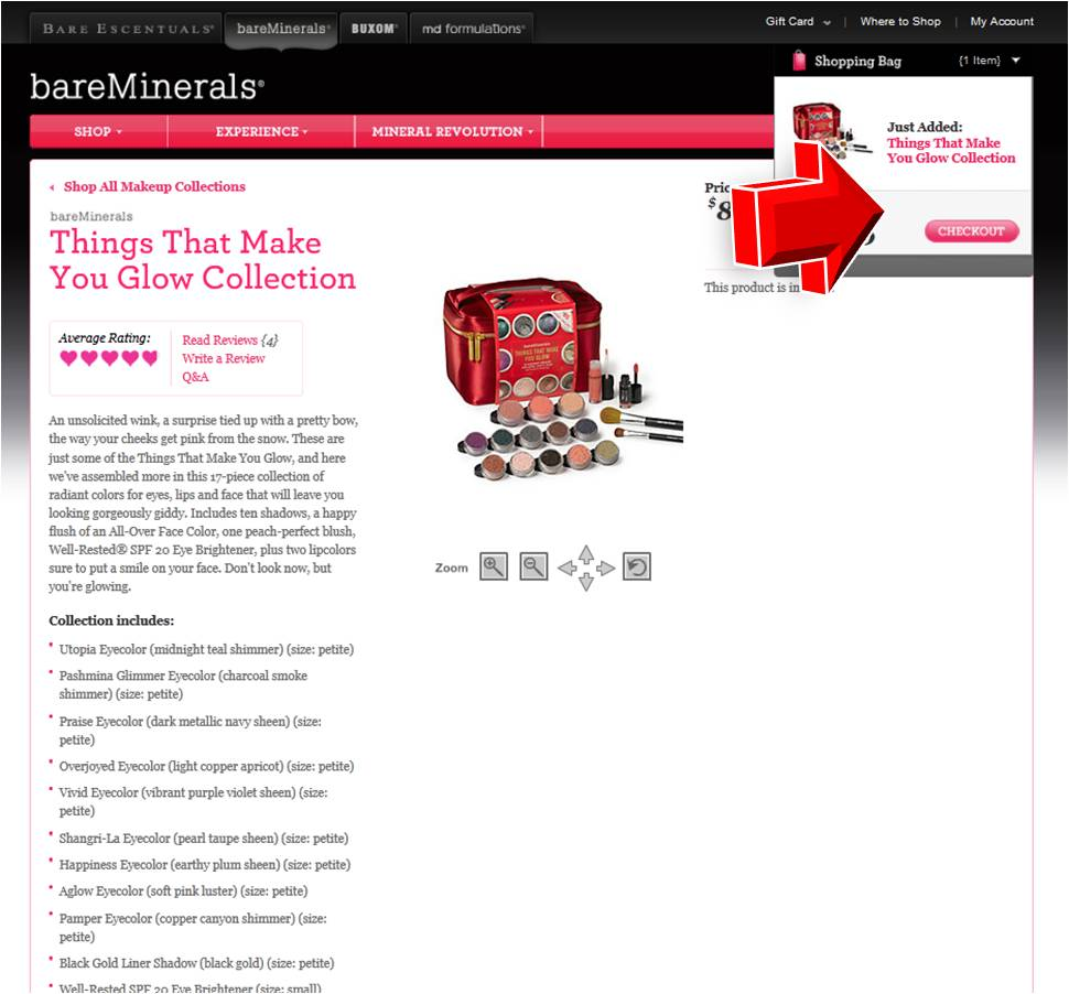Bare minerals coupon codes