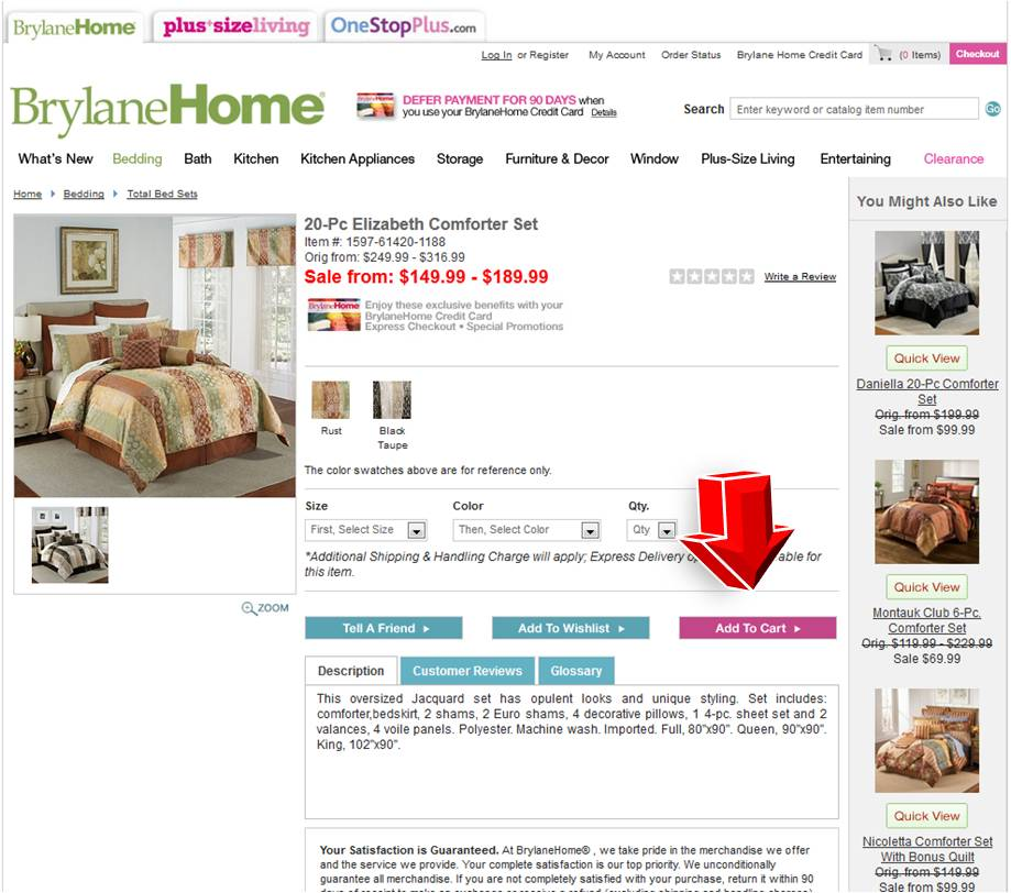 Brylane home coupon code
