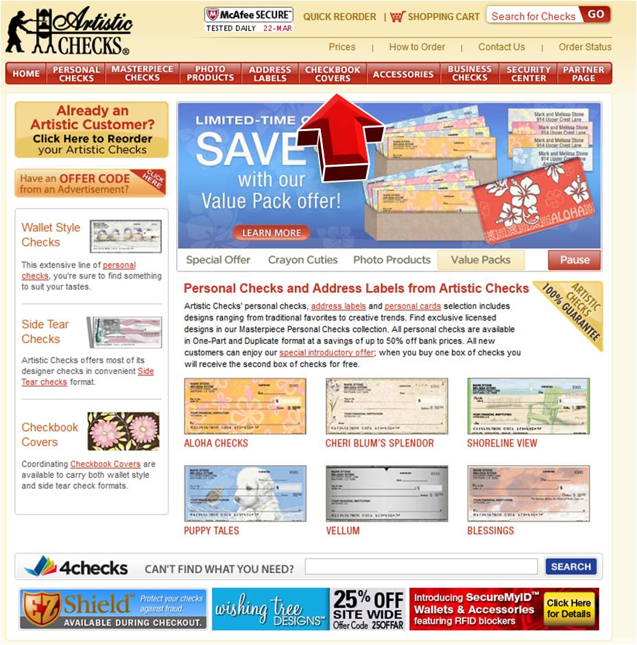 Cover store discount coupons
