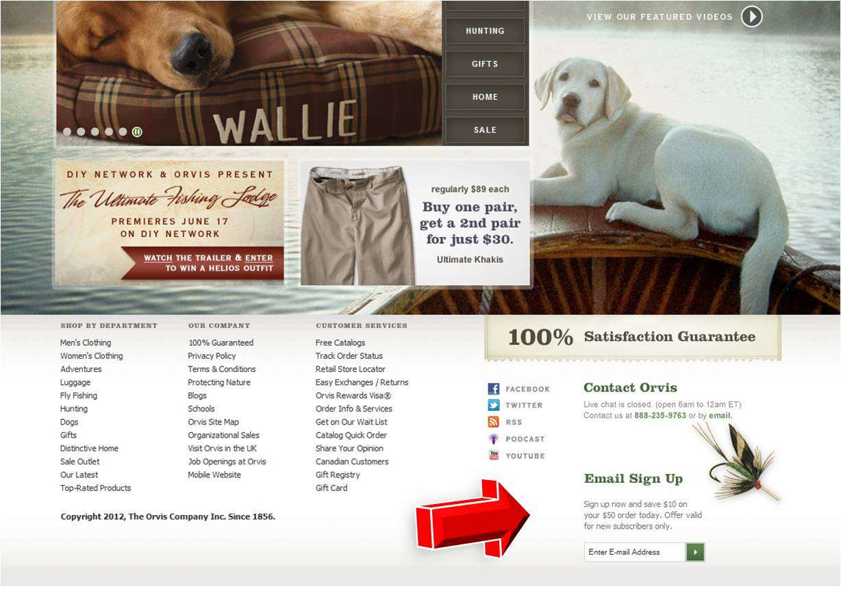 Orvis discount coupon