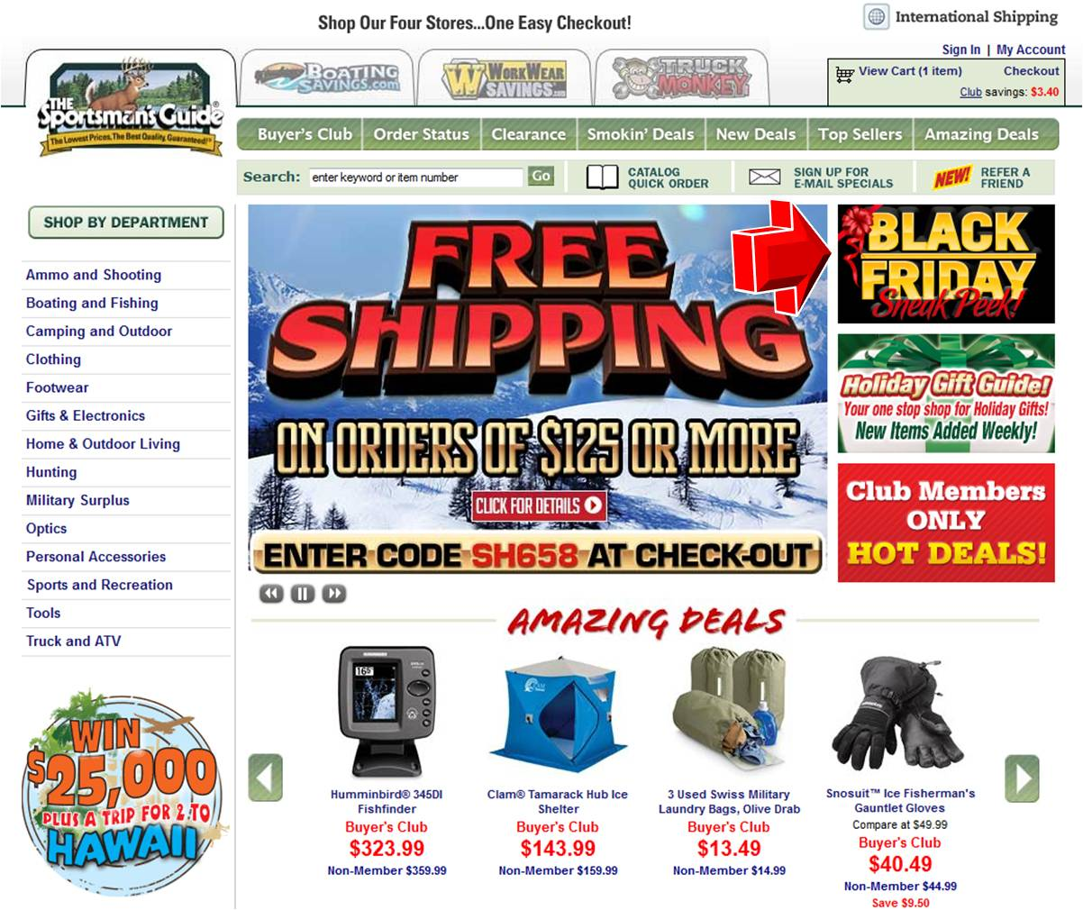 Sportsman guide coupon codes