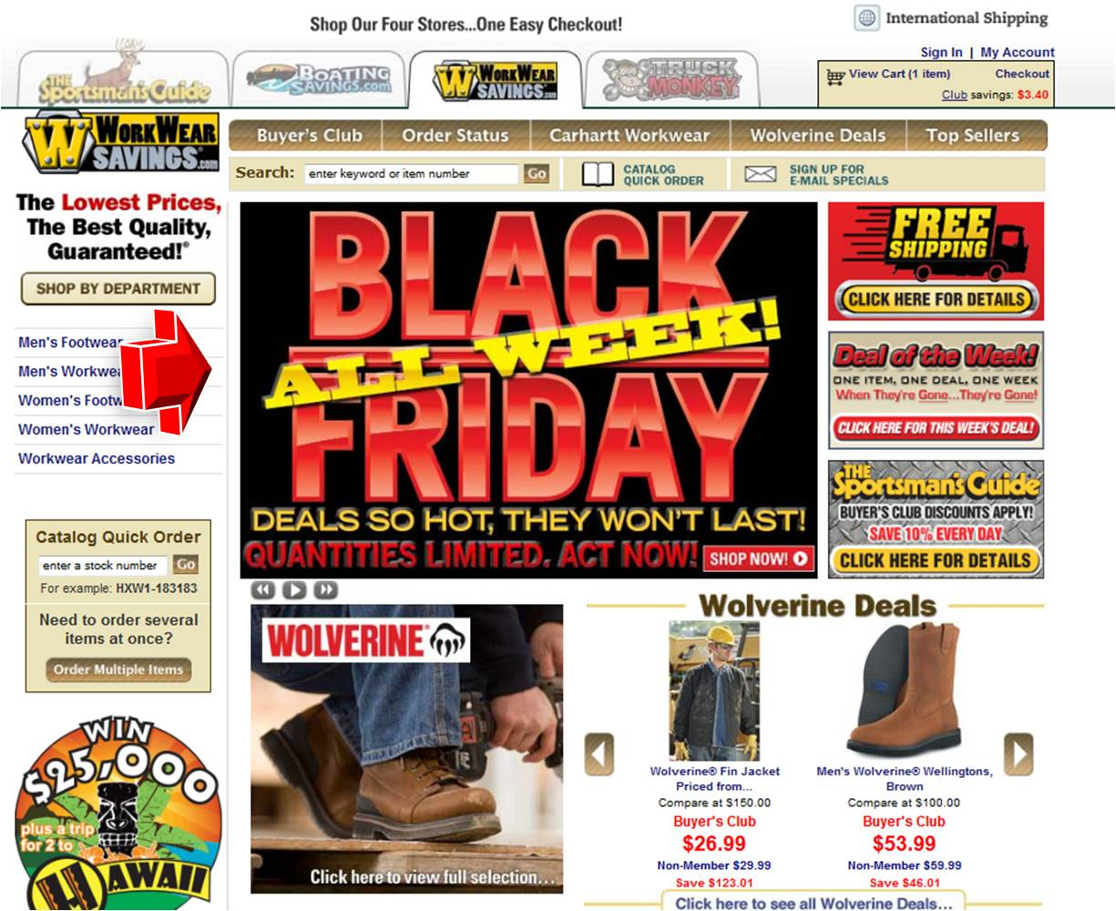 workwear savings black friday promotion promo code. Black Bedroom Furniture Sets. Home Design Ideas