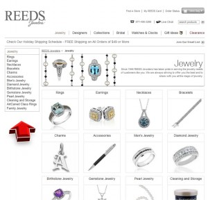 List of Jewelry from Reeds.com