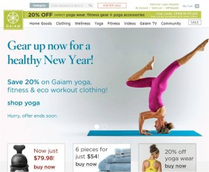 Step1 to Apply Gaiam Promo Code