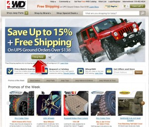 4WD Save up to 15 percent Off + Free Shipping