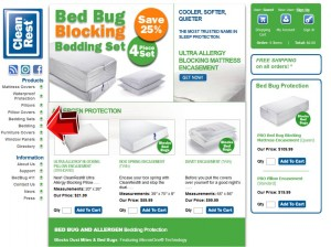 Bedding from CleanRest