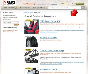 List of 4WD Save up to 15 percent Off + Free Shipping