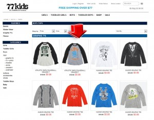 List of Boy Apparel from 77Kids