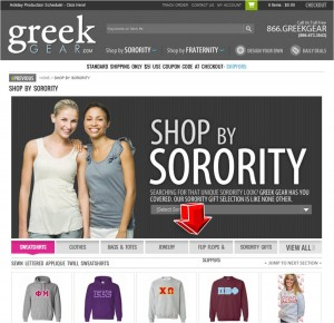 List of GreekGear Sorority