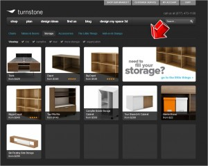 List of Storage from Myturnstone.com