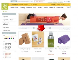 List of Yoga from Gaiam