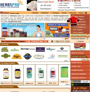 Shop Vitamins from HerbsPro