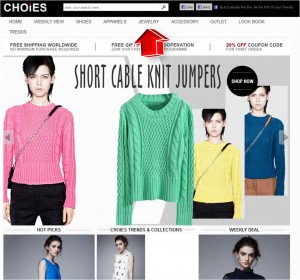 Apparels from Choies