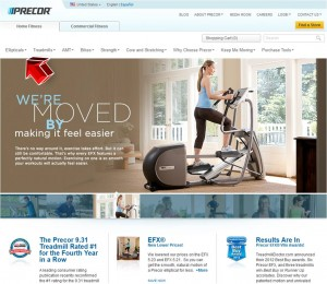 Ellipticals from Precor