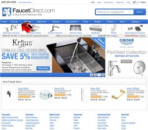 Faucets from Faucet Direct