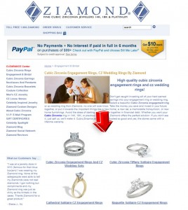 List of Engagement & Bridal from Ziamond
