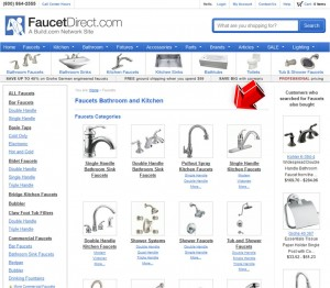 List of Faucets from Faucet Direct