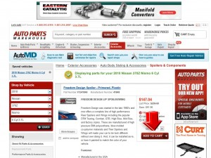 Step2 to Enter Auto Parts Warehouse Coupon Code