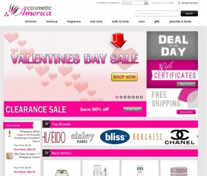 Valentines Day Sale from Cosmetic America