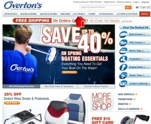 Electronics from Overtons