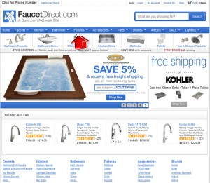 Fixtures from Faucet Direct