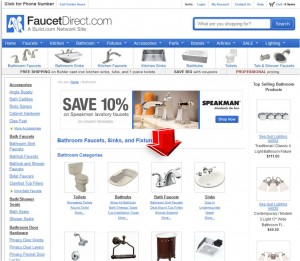 List of Bathroom Faucet from Faucet Direct