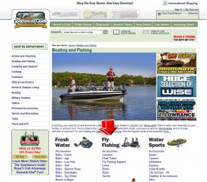List of Boating and Fishing from Sportsmans Guide
