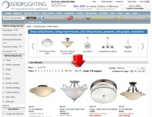 List of Ceiling Lights from 1StopLighting
