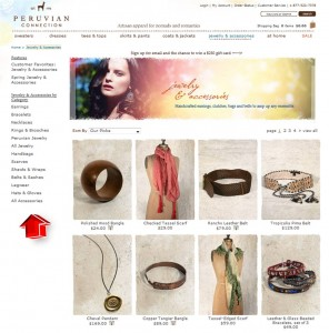 List of Peruvian Connection Jewelry and Accessories