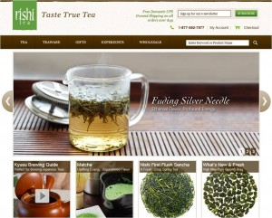 Step1 to Apply Rishi Tea Promo Code