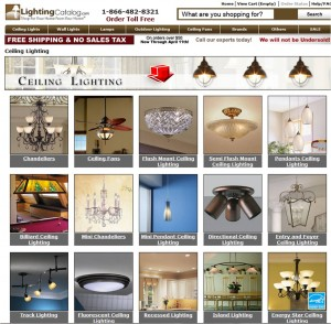 List of Ceiling Lights from Lighting Catalog