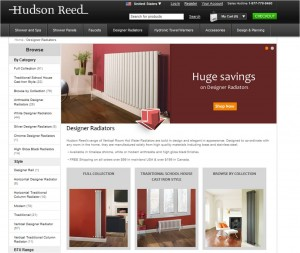 List of Designer Radiators from Hudson Reed