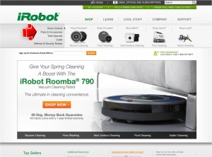 Parts & Accessories from iRobot