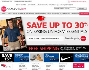 Specialty Apparel from Aramark