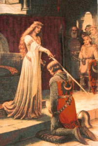 Medieval Tapestry Accolade
